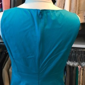 Tahari Dresses - Tahari teal dress thin material size 6  SUMMER !
